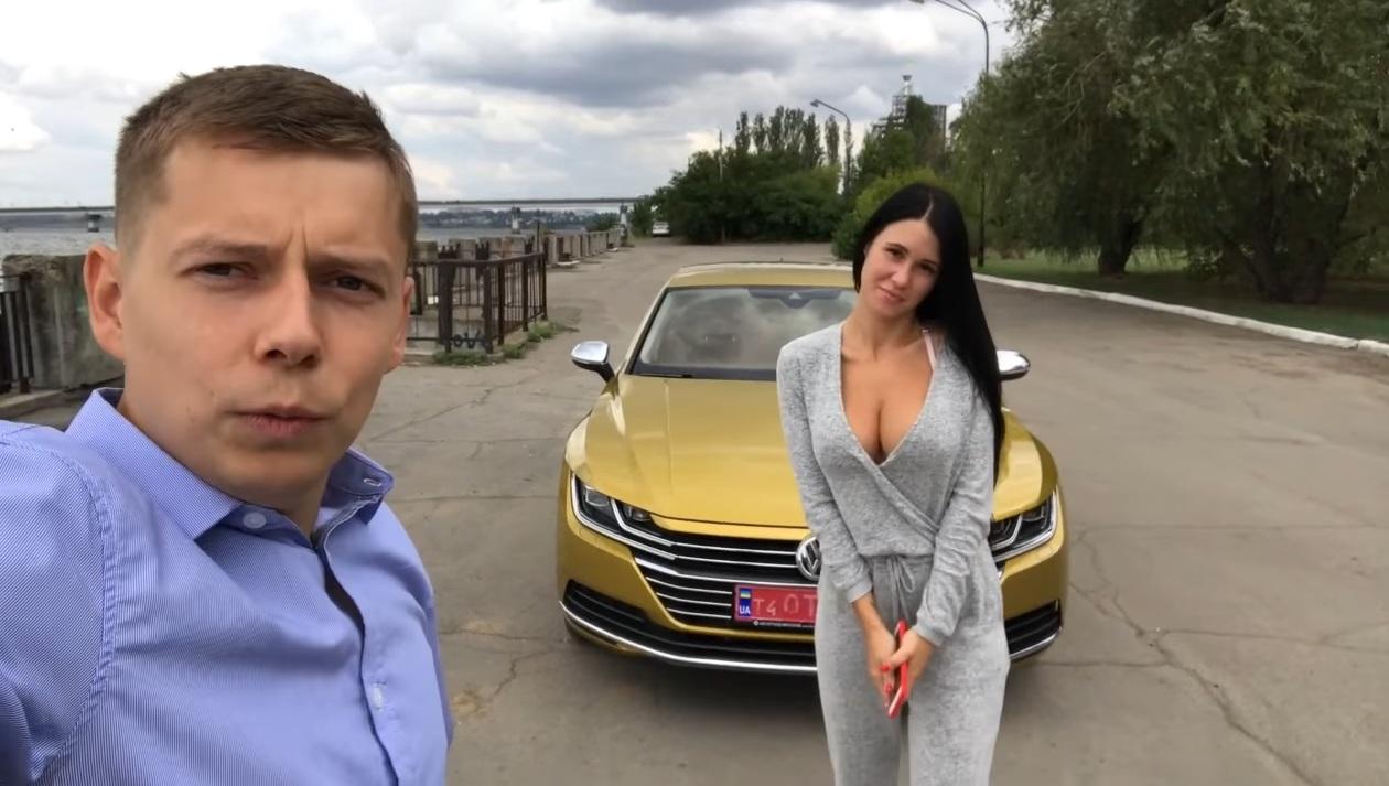 Fata vine la pachet cu mașina? Uite cum testează ucrainenii automobilele noi!