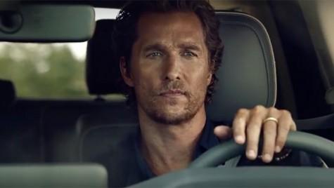 Film mut? Matthew McConaughey nu spune un cuvânt în reclama la Lincoln Navigator