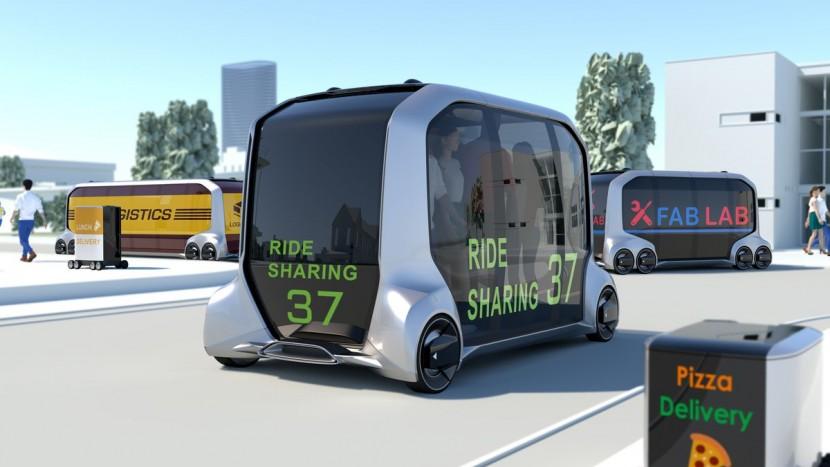 e-Palette, un nou concept de la Toyota