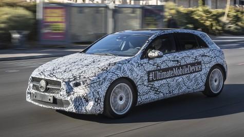 Ce se întâmplă în Vegas… Noul Mercedes-Benz A-Class a fost surprins în orașul jocurilor de noroc