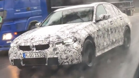 Viitorul BMW Seria 3, surprins pe autobahn