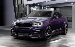 Atât de… mov – Un BMW X6 care întoarce capete