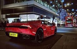 O rusoaică și-a comandat un Lamborghini Huracan cu 1,3 milioane de cristale Swarovski