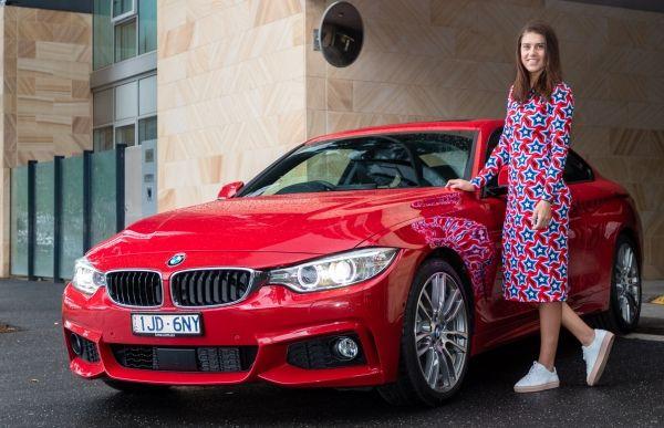 Sorana Cîrstea BMW (2)