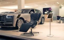 Cel mai scump scaun din lume se vinde într-o reprezentanță Rolls-Royce