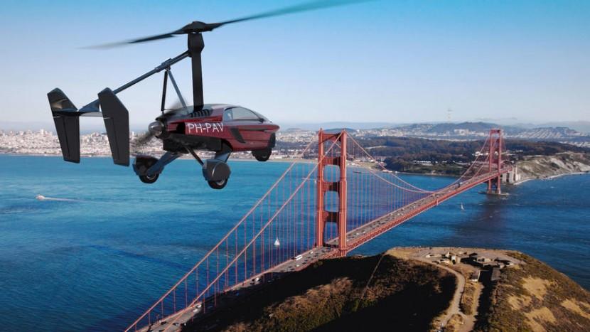 Mașina zburătoare Liberty (1)