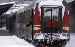 Podeaua unui tren cu pasageri s-a rupt în mers