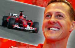 Fotografii cu Michael Schumacher, scoase la vânzare pentru 1 milion de lire sterline