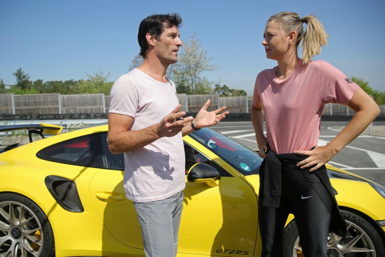 Maria Șarapova si Mark Webber (1)