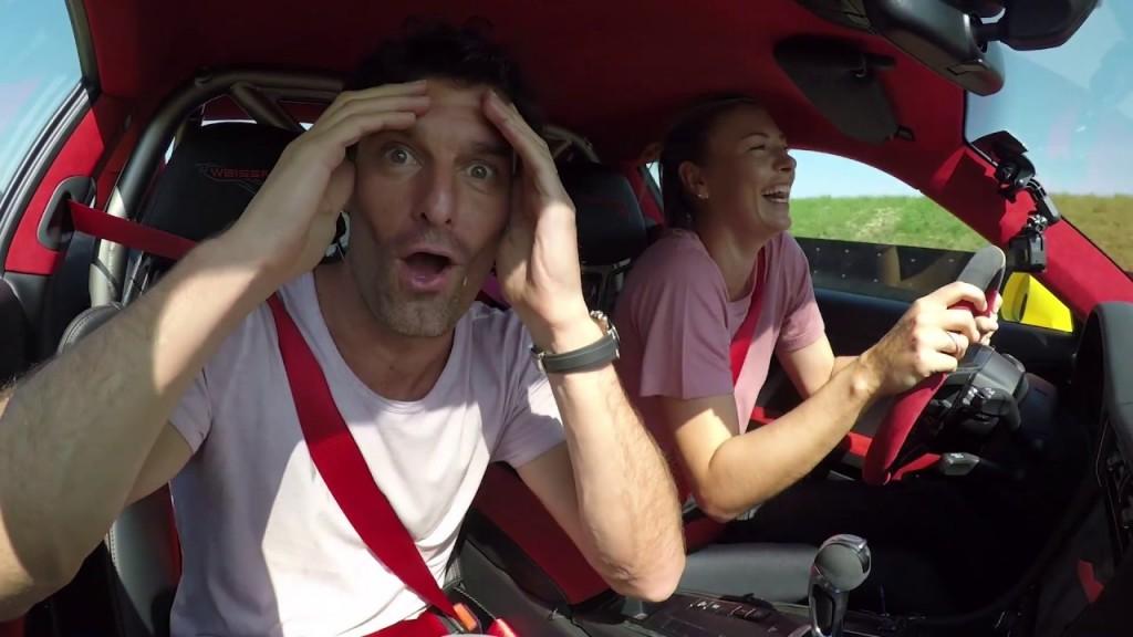 Maria Șarapova si Mark Webber (2)