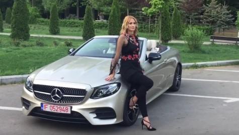 Camelia Potec & Mercedes-Benz Clasa E Cabrio. Când campionii se întâlnesc
