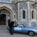 Jaguar E-Type nunta regală (1)