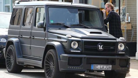 Portarul care a îngropat Liverpool în finala Ligii Campionilor, Karius, conduce un Mercedes-AMG G 63