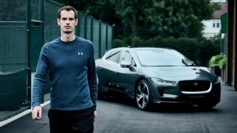 Andy Murray, printre primii posesori de Jaguar I-Pace
