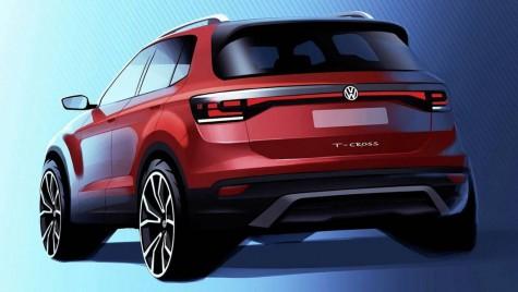 Faceți cunoștință cu mezinul familiei de SUV-uri Volkswagen! Așa va arăta T-Cross