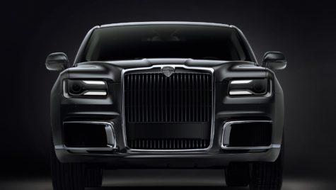 Așa arată Aurus Senat, versiunea civilă a limuzinei blindate a lui Vladimir Putin