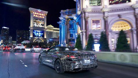Viva Las Vegas! Prototipul BMW Seria 8 Cabrio testează printre cazinouri