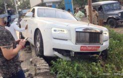 Și abia îl cumpărase! A făcut praf un Rolls-Royce Ghost după numai câțiva kilometri