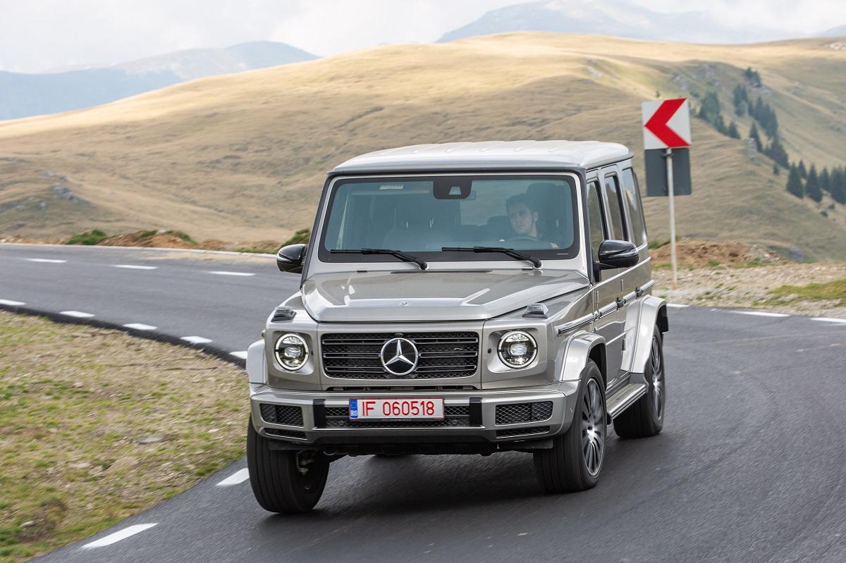 Test drive Mercedes-Benz G 500 (2)