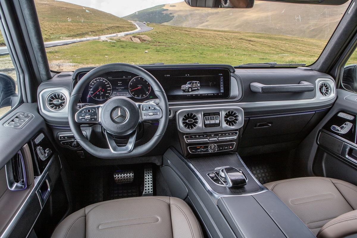 Test drive Mercedes-Benz G 500 (22)