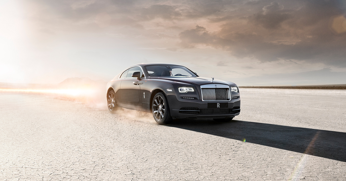 Rolls-Royce Wraith Halloween