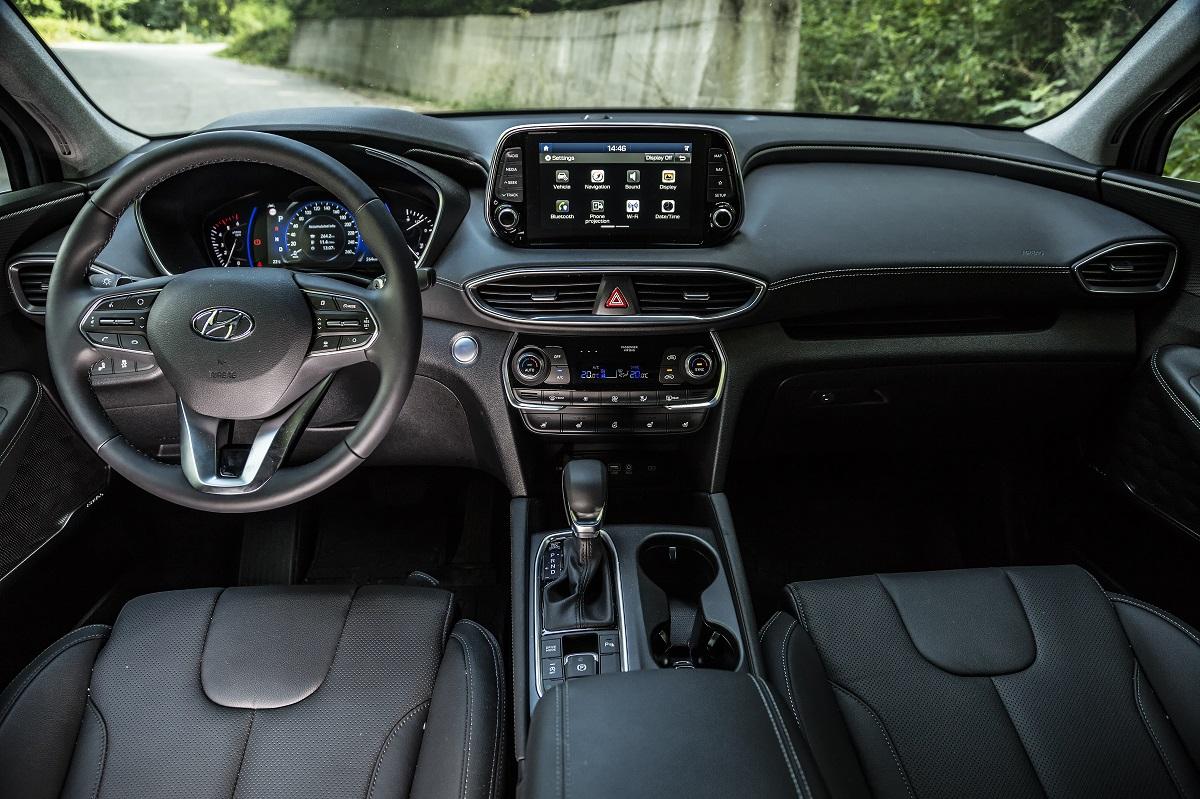Test drive Hyundai Santa Fe 2.2 CRDI 200 CP 8AT 4x4 Luxury (8)