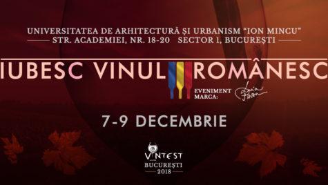 VIN LA EXPO! IUBESC VINUL ROMÂNESC – Salonul VINTEST București, editia a VIII-a