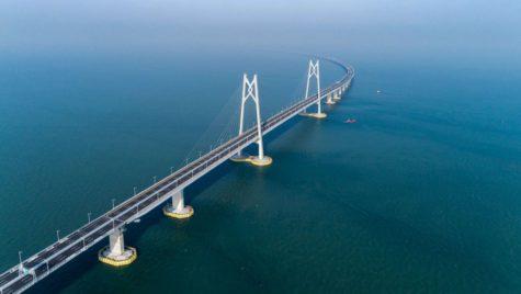 Cel mai lung pod maritim din lume va fi inaugurat luna aceasta. Nu, nu e în România!