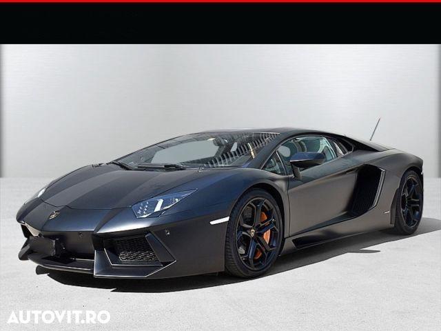 Lamborghini Aventador Cele mai scumpe mașini rulate