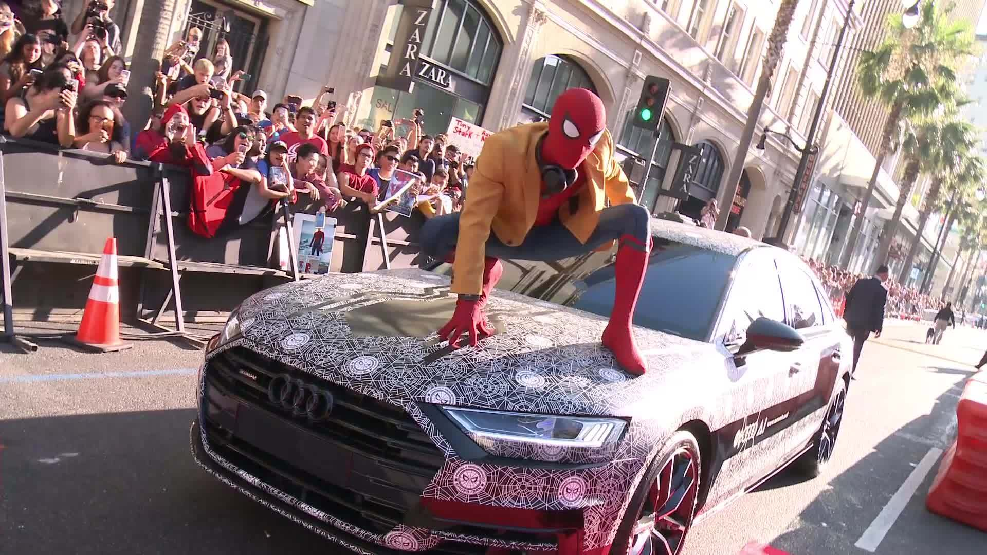Audi Spiderman Stan Lee