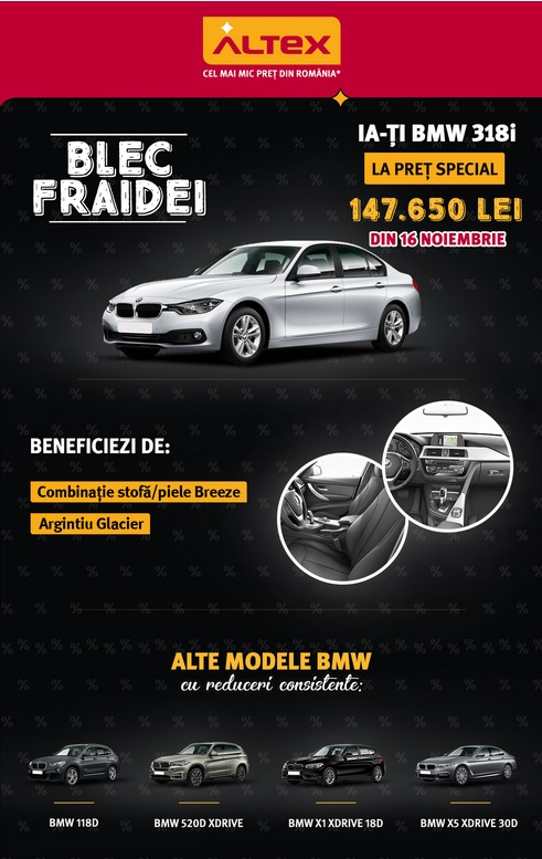 BMW Altex Black Friday