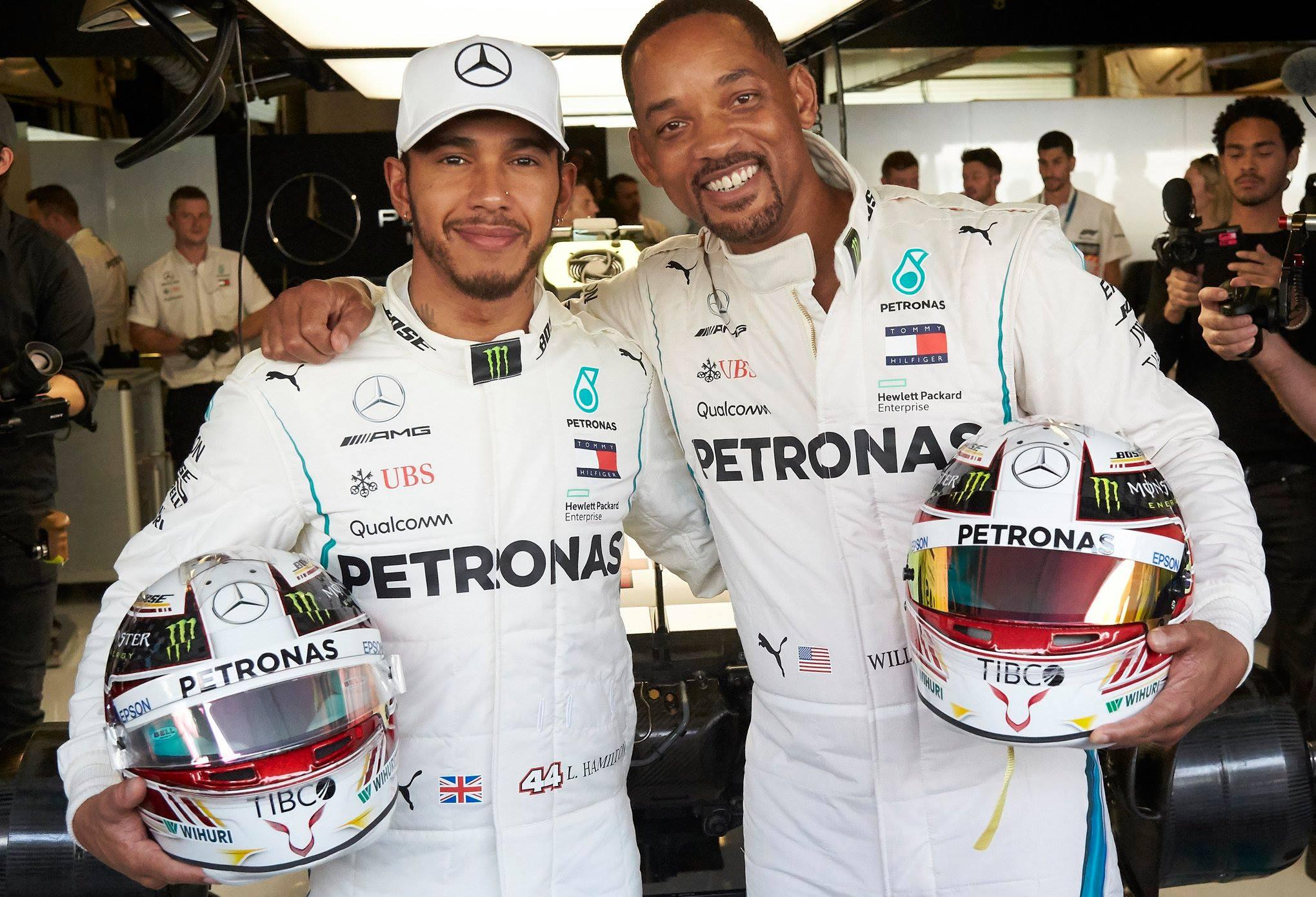 Lewis Hamilton, Will Smith (2)