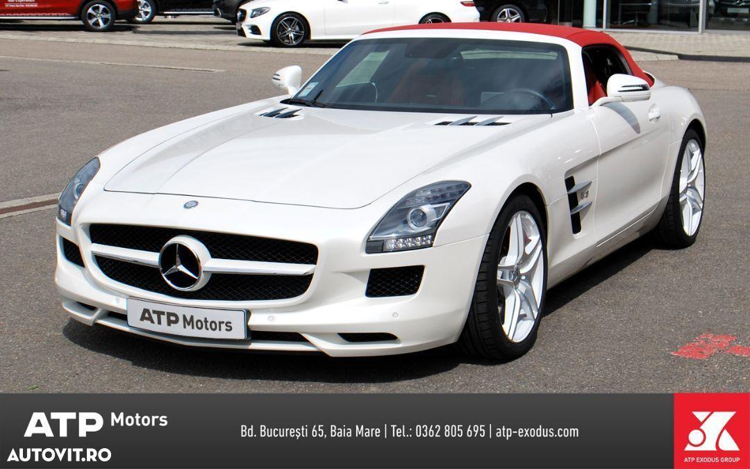 Mercedes-Benz SLS AMG cele mai scumpe mașini