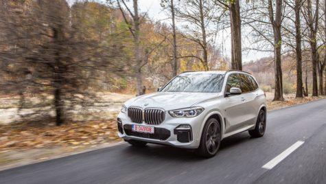 Test drive BMW X5 M50d – Tigrul de cristal