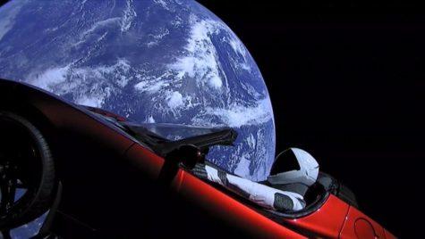Unde a ajuns mașina lansată în spațiu de Elon Musk
