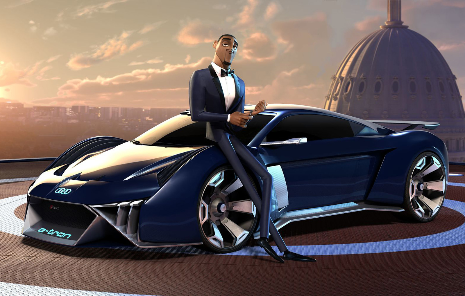 Will Smith Audi e-tron (2)