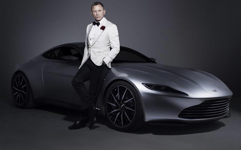mașini James Bond Aston Martin DB10 (Spectre, 2015)