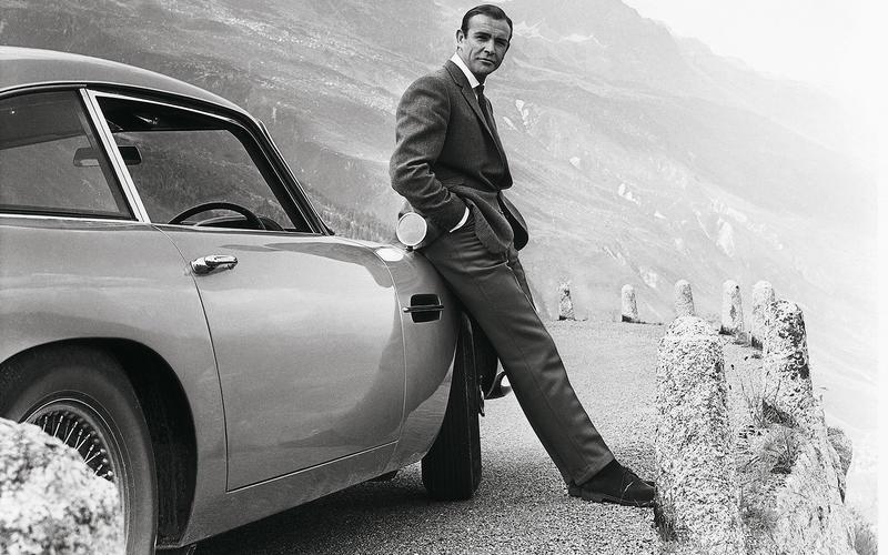 mașini James Bond Aston Martin DB5 (Goldfinger, 1964) 2