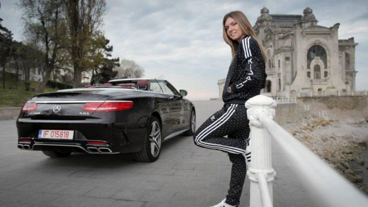 Simona Halep are cel mai bogat șofer din lume!