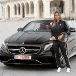 Simona Halep Mercedes S 63 Cabrio 4