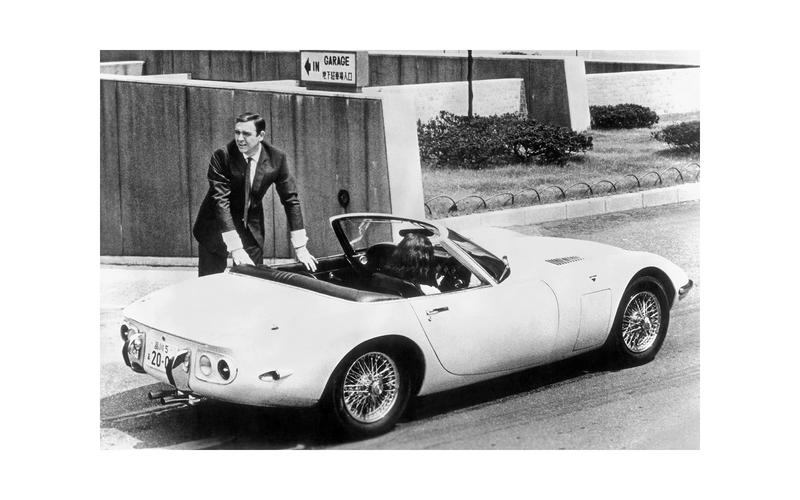 mașini James Bond - Toyota 2000GT Convertible (You Only Live Twice, 1967)