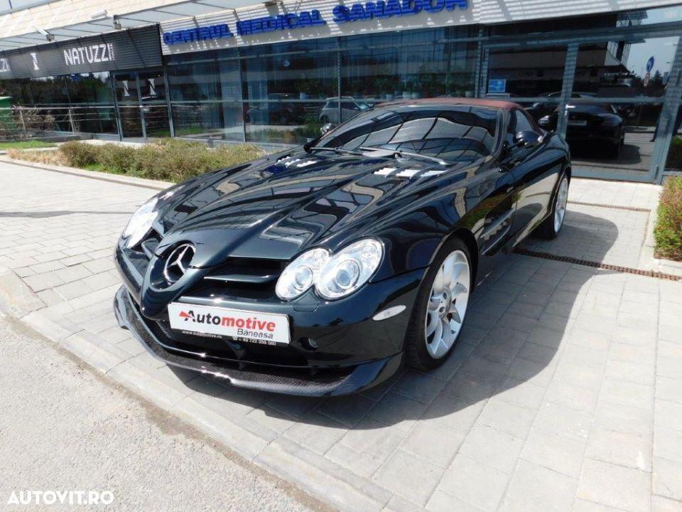 Mercedes-Benz SLR cele mai scumpe mașini