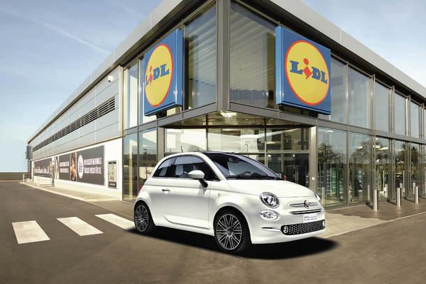 Leasing Lidl Fiat 500