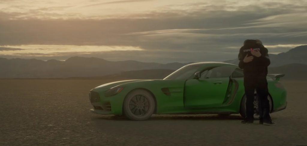 Mercedes-AMG GT R mecanic orb