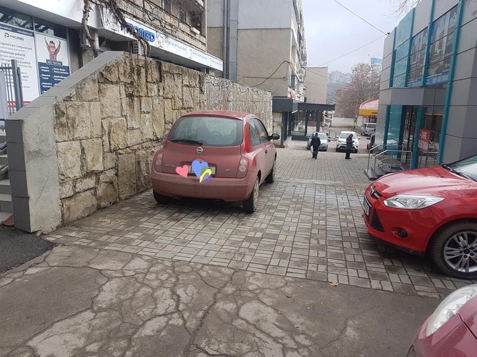 Parcare mesaj șoferiță (2)