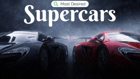 Top 10 cele mai căutate supercaruri pe Google