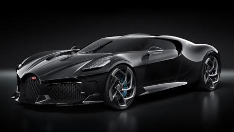 Un fotbalist celebru a cumpărat cea mai scumpă mașină din lume, Bugatti La Voiture Noire
