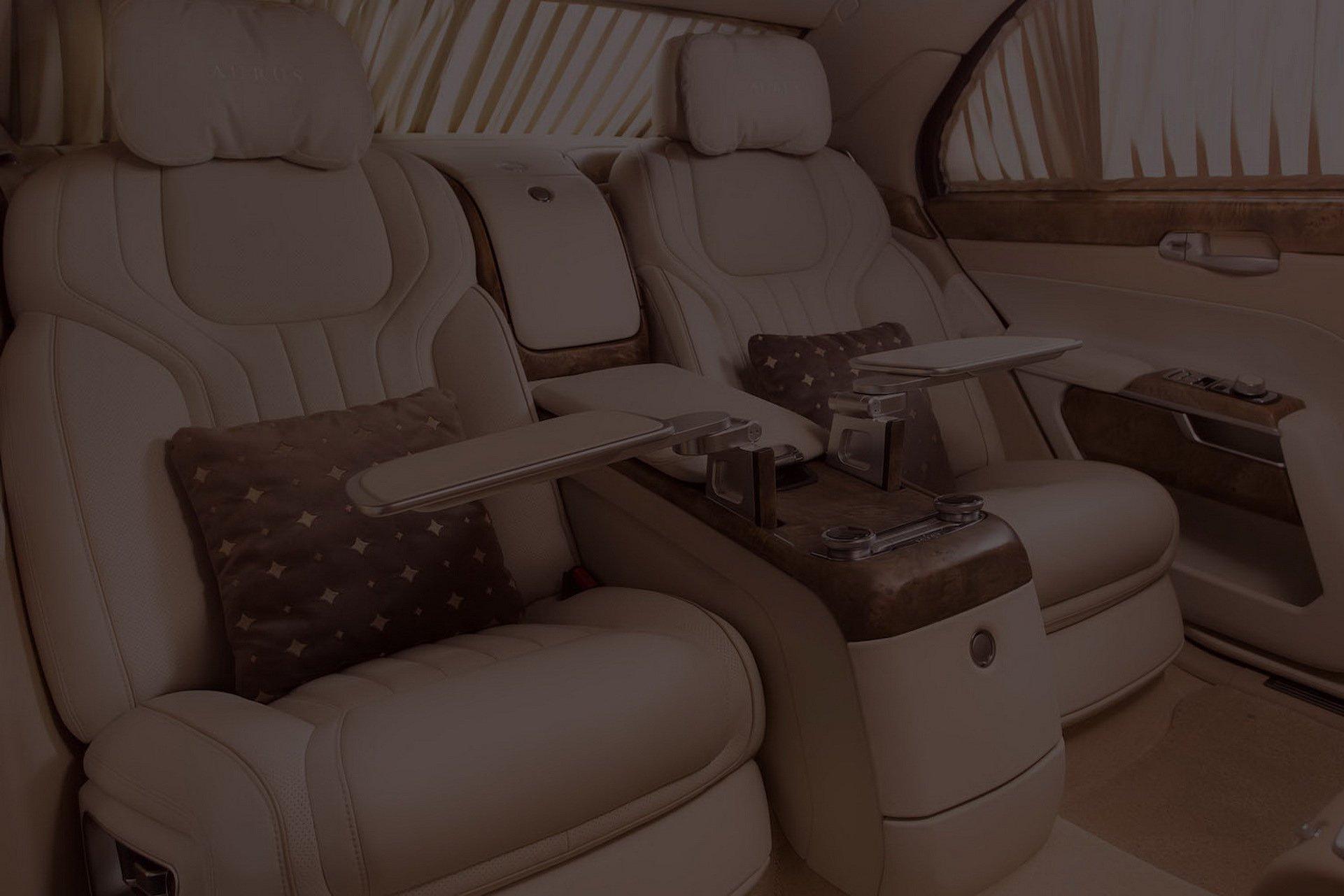 Aurus Senat, limuzina lui Putin (1)