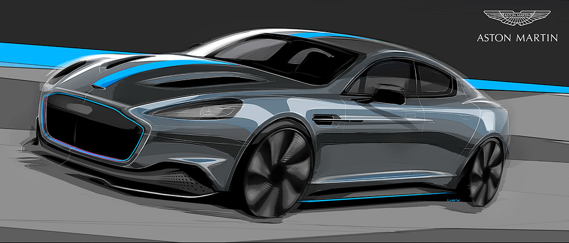 James Bond Aston Martin Rapid E 2