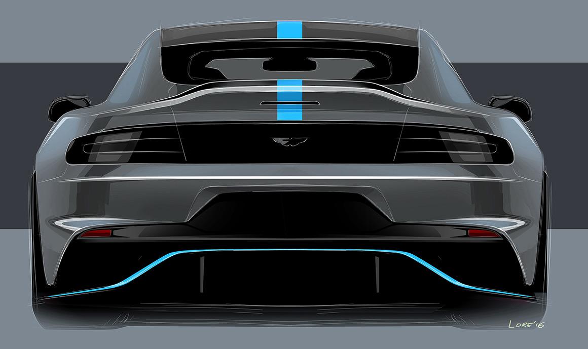James Bond Aston Martin Rapid E 4